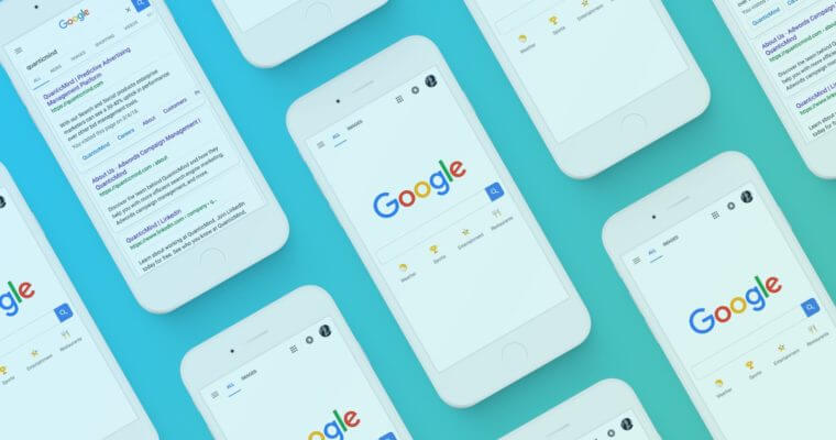 رتبه سایت در نتایج موبایل