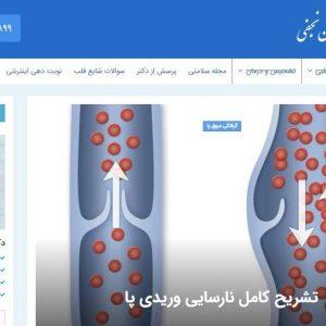 طراحی و سئوی سایت دکتر محمدحسین نجفی توسط همیار سیستم