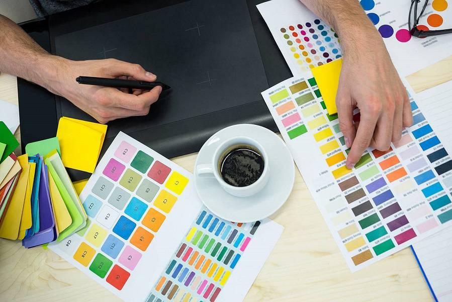 تاثیر رنگ ها در طراحی سایت شرکتی