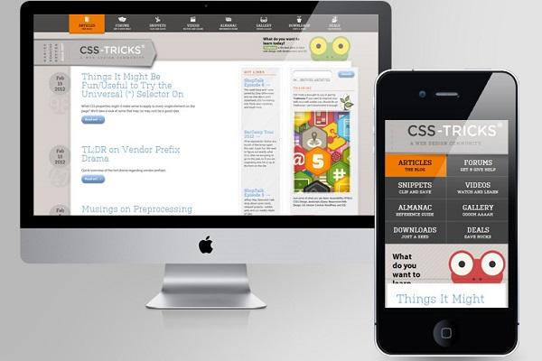 طراحی مجدد سایت بعلت رسپانسیو نبودن
