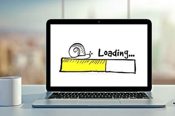 طراحی مجدد سایت-سرعت کند