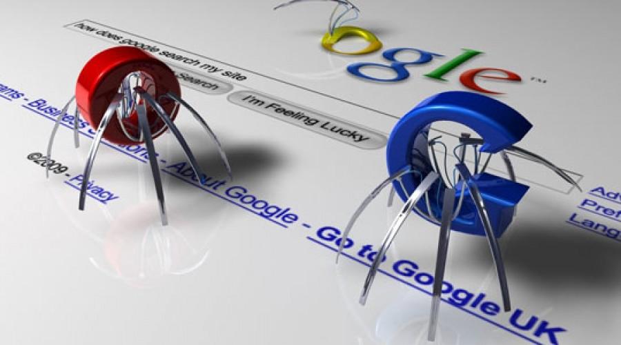 عنکبوت گوگل را دست کم نگیرید!